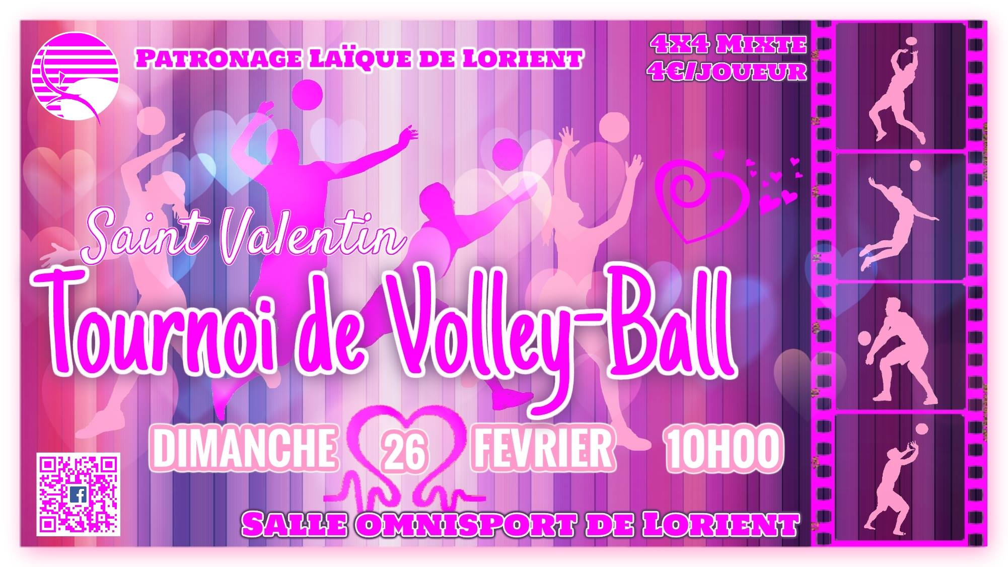 PLL saint valentin volleyball