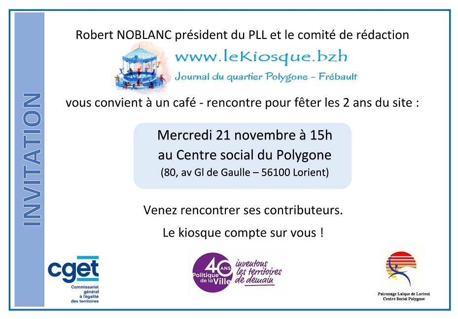 invitation kiosque